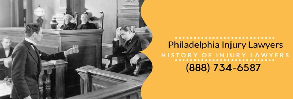 Philadelphia Injury Law History